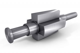 Forged steel Multipolar generator shaft