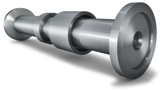 Forged steel Hydro turbine shaft