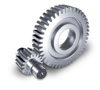 Forged steel Gear wheel